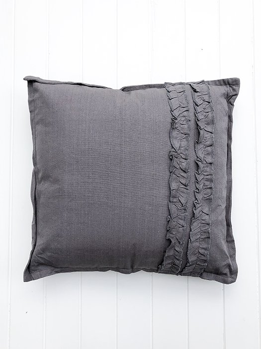 2-CA Ruffle Pillow