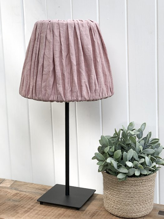 24-MW Linen Lampshade - Pink