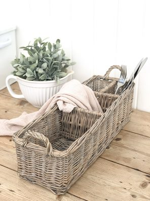 54-CA Wicker Storage Basket