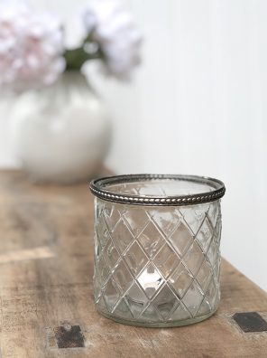 58-CA Lattice Candle Pot