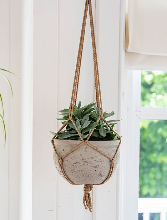 72-GT Cement Hanging Planter