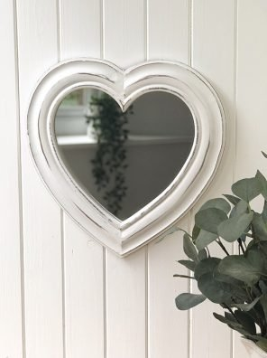 92-RH Heart Shaped Mirror