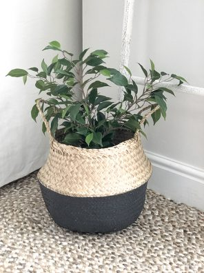 95-RH Seagrass Grey Dipped Basket