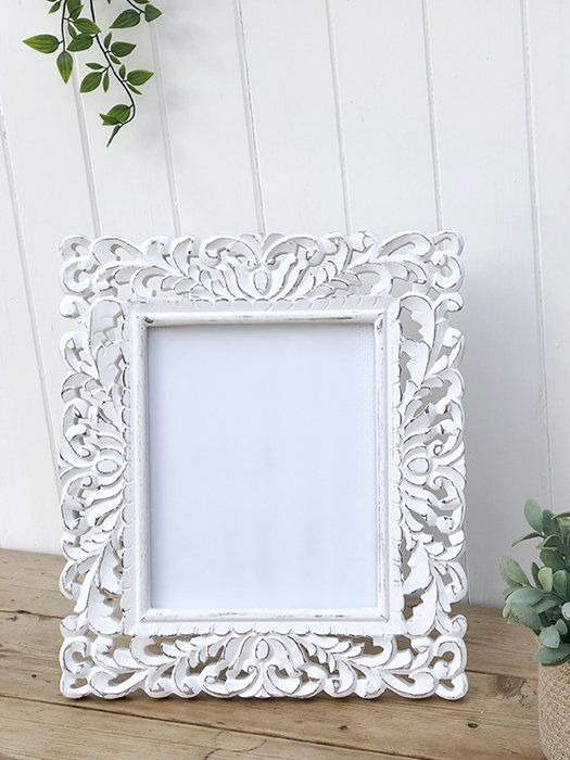99- RH Large Ornate Carved Frame